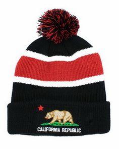 California republic wool hats (3)