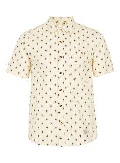 LIFETIME COLLECTIVE PRINT SHORT SLEEVE SHIRT - Topman price: £75.00