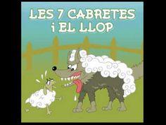 Contes Infantils - Les 7 Cabretes I El Llop - YouTube