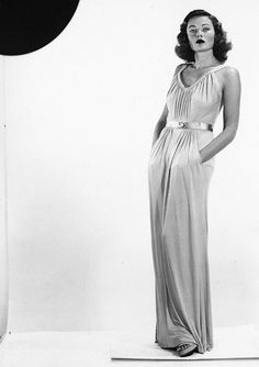 Gene Tierney, 1940's