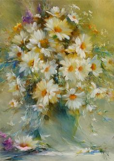 """""""Morning Joy"""" picture camomile"""
