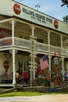 General store in Arkansas.