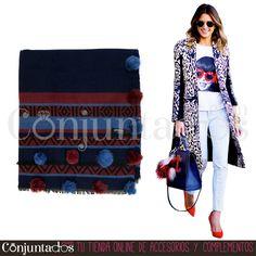 Te vas a enamorar de nuestras bufandas grandes. Visita nuestra web ★ desde 12,95 € en https://www.conjuntados.com/es/fulares/bufandas.html ★ #novedades #WinterIsComing #foulard #fulares #bufanda #bufandamanta #conjuntados #conjuntada #accesorios #complementos #moda #fashion #fashionadicct #picoftheday #outfit #estilo #style #GustosParaTodas #ParaTodosLosGustos #fríopolar #quépelete