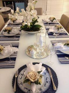 mesas postas para jantar - Pesquisa Google