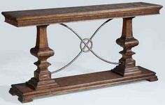 (Limited Supply) Click Image Above: Ambella Home Woodford Console Table - Nutmeg