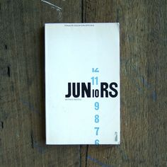Juniors cover design by: Omnific/Philip Thompson