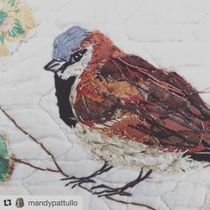 137 vind-ik-leuks, 11 reacties - Chateau Dumas (@chateaudumas) op Instagram: '@mandypattullo is so clever, she stitches life and character into her work, this little chap looks…'