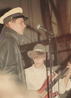 John Taylor  Simon Lebon back in the day... Duran Duran