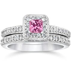 1 1/4ct Pave Vintage Diamond Ring 14K White Gold *** Read more reviews of the product by visiting the link on the image.