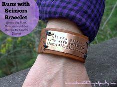 Runs with Scissors Bracelet DIY