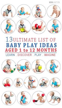 While aiding you into the sync of being a parent, the following activities will also help enhance your baby's fine motor and logical thinking skills. We have come up with an interesting list for your baby from the time of birth till 12 months of age.