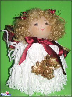 Angelito. #manualidades #pinacam #porex #navidad                                       www.manualidadespinacam.com