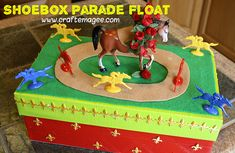 Craft E Magee: Kentucky Derby Craft: Pegasus Parade Float