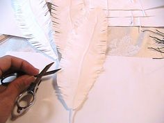 paper feather and angel wings-how to make
