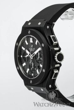 Hublot Big Bang 'Black Magic Evolution' Chronograph #watchuwant