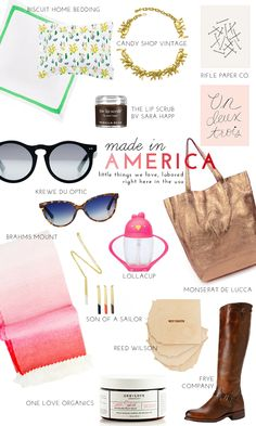 Celebrating Labor Day: Our Favorite American-Made Products   theglitterguide.com