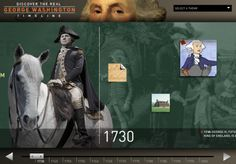 Learning from History Lincoln and Washington Virtual Tour and Timelines
