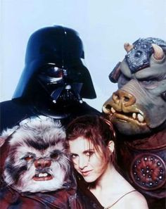 A Rolling Stone photo shoot promoting 'The Return of the Jedi'