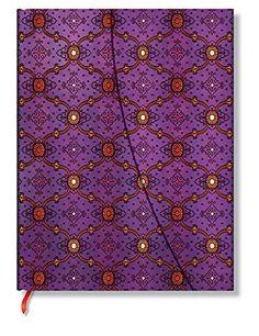 French Ornate Violet : Ultra Lined Journal - Paperblanks