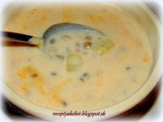 Czech Recipes, Healthy Soup Recipes, Food 52, Cheeseburger Chowder, Quinoa, Food And Drink, Healthy Eating, Cooking, Soups