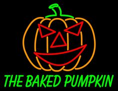 #customneonsign #pumpkinneonsign