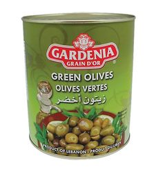 Catering Pickles - Green Olives - 3000g