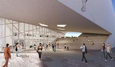 Galería - Libeskind presenta diseño del nuevo Centro Lituano de Arte Moderno - 3