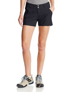 Columbia Women's Saturday Trail Shorts, India Ink, 10. For product info go to:  https://all4hiking.com/products/columbia-womens-saturday-trail-shorts-india-ink-10/
