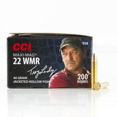 CCI 22 WMR Ammo - 200 Rounds of 40 Grain JHP Ammunition  #22WMR #22WMRAmmo #CCI #CCIAmmo #CCI22WMR #JHP