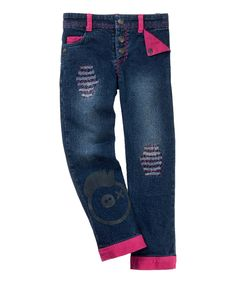 Love this Blue & Pink Rockstar Pants - Toddler & Girls by Vicious Wear on #zulily! #zulilyfinds