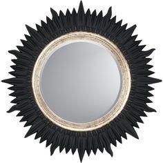 Paragon Starburst Contemporary Wall Mirror