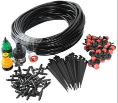Top Quality DIY Micro Drip Irrigation System Automatic Plant Garden Watering Kit Gardening Drip Irrigation 25M Hose 30Drippers -- Check this useful article by going to the link at the image. #GardenSupplies