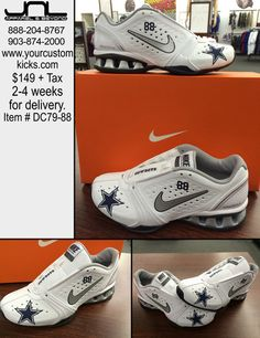 Women s Custom Dallas Cowboys Dez Bryant Nike Reax Rockstar  88 – JNL  Apparel cd9e0c363