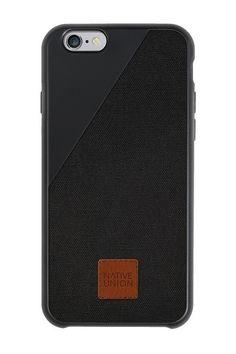 De ultieme bescherming: de CLIC 360 van Native Union voor iPhone 6 Plus in zwart. #iPhone6Plus #case #fall