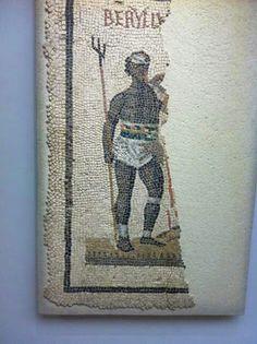 Ethiopian retiarius . Granet museum , Aix en Provence. France