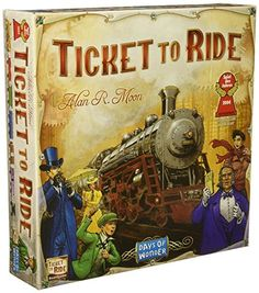 17 Popular Board Games For Adults, Teens and College Kids (2020) Most Popular Boards, Most Popular Games, Games For Teens, Adult Games, Fun Games, Party Games, Board Games For Two, Ticket To Ride, Buy Tickets
