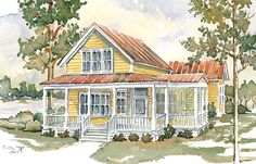 Merritta Creek, A Southern Living House Plan