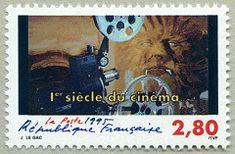 La bête 1er siècle du cinéma - Timbre de 1995