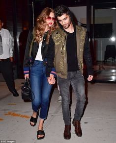 Close: While Gigi Hadid and Zayn Malik have quickly established themselves as one of the world's most photographed couples, behind closed doors they are just like everyone else