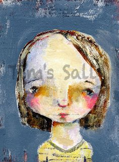 Nadine  original by Mindy Lacefield by timssally on Etsy, $35.00