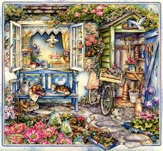 levkonoe: Kim Jacobs. Уголок садовода