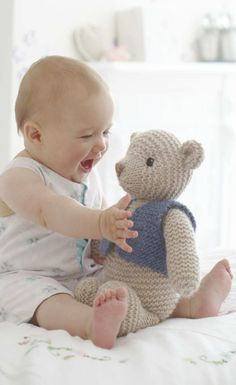 Baby with teddy bear Cool Baby, Baby Kind, Baby Love, Precious Children, Beautiful Children, Beautiful Babies, Baby Pictures, Baby Photos, Little People