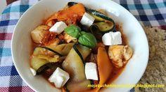 Moje                                                                       Kuchenne Rewelacje  : Kurczak z cukinią po grecku