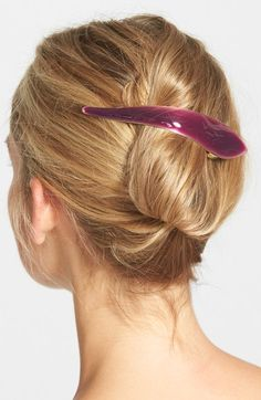 Ficcare 'Maximus Silky' Hair Clip available at #Nordstrom