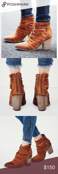 Free People Hybrid Heel Boot (Terra-cotta) NEW WITH TAGS Free People Shoes Ankle Boots & Booties