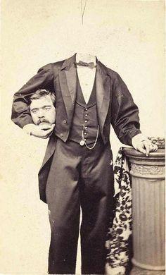 The Headless Magician  1855