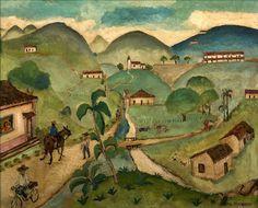 Entre Morros e Roda d'Água by Anita Malfatti