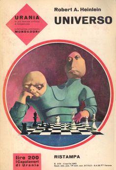 Karel Thole cover art for Italian sci-fi mag, Urania #378, April 1965.