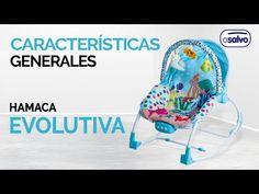 Características Generales l Hamaca Evolutiva l Asalvo // General characteristics l Baby Bouncer Evolutiva l Asalvo