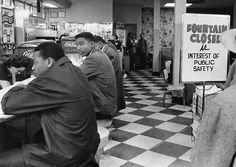 Students attempt to be served at Walgreen's. student attempt, students, civil rights, nashville, black student, serv, walgreen, histori matter, 1960